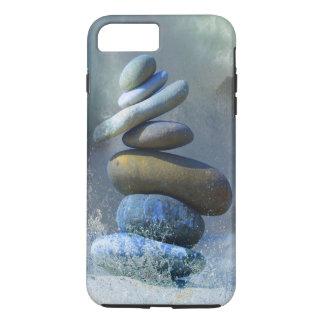 Turquoise Stone Zen Formation Misty Ocean Spray iPhone 7 Plus Case