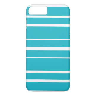 Turquoise Striped Summer CricketDiane Nautical iPhone 8 Plus/7 Plus Case