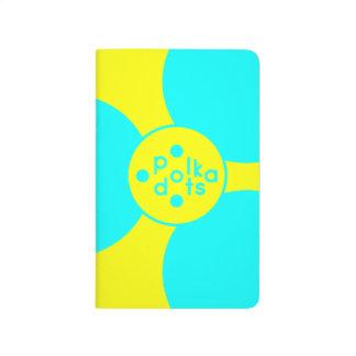 Turquoise & Sunshine Yellow Pocket Journal