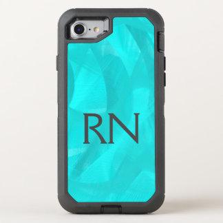 Turquoise Swirl RN phone case