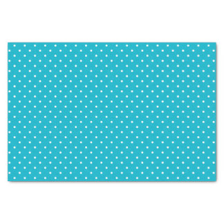 Turquoise Swiss Dots | Tissue Paper