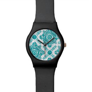 Turquoise Tile Wrist Watch