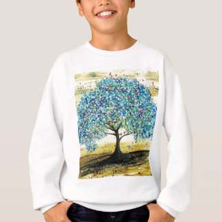 Turquoise Tree Custom Item Sweatshirt
