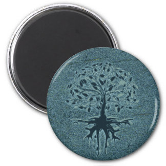 Turquoise Tree of Life Magnet