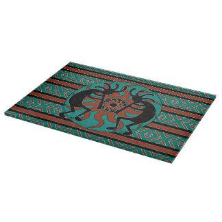 Turquoise Tribal Sun  Kokopelli Southwest Design Boards