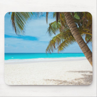 Turquoise Tropical Beach Mousepads