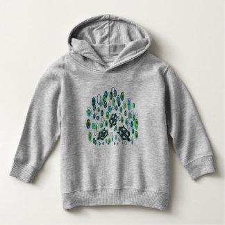 turquoise turtle 37 hoodie