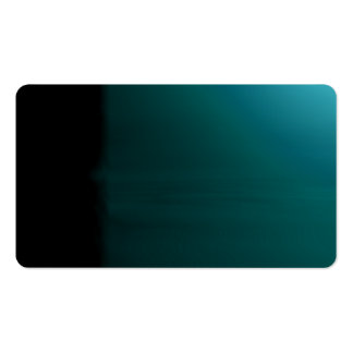 Turquoise Unusual Visual Identifiers Biz Card Business Card