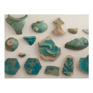 Turquoise Vessel Sherds Postcard