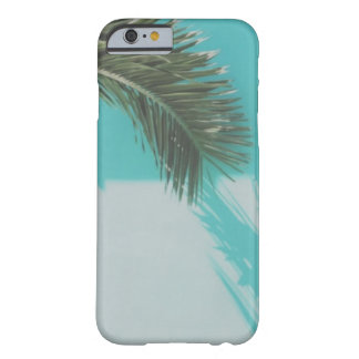 Turquoise Wall Palm Leaf Case