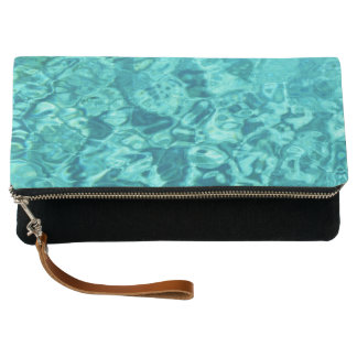 TURQUOISE WATER CLUTCH