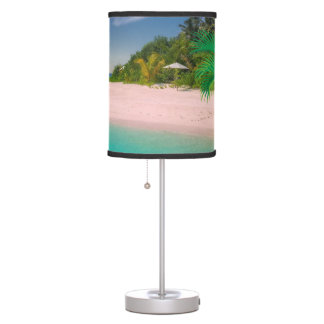 TURQUOISE WATER TROPICAL BEACH LAMP. TABLE LAMP
