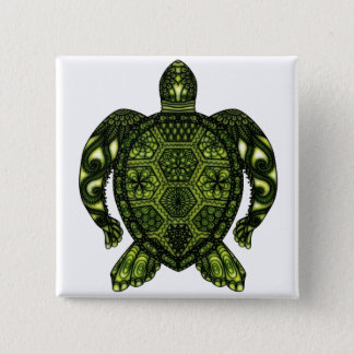 Turtle 2b 2 inch square button