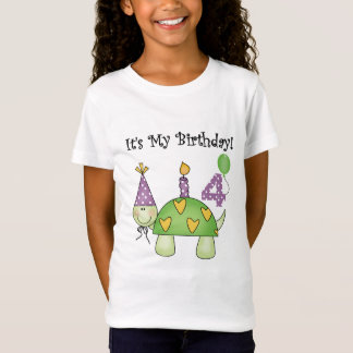 Turtle 4th Birthday Tshirts and Gifts