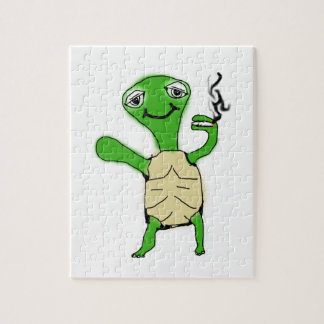 Turtle Burner Jigsaw Puzzle