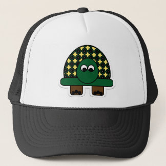 Turtle Cartoon Art Trucker Hat