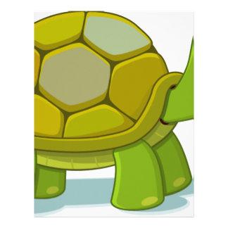 Turtle Cartoon Drawing Letterhead