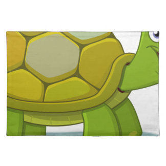 Turtle Cartoon Drawing Placemat