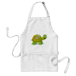 Turtle Cartoon Drawing Standard Apron
