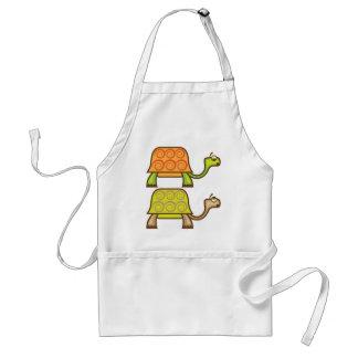Turtle cartoon standard apron