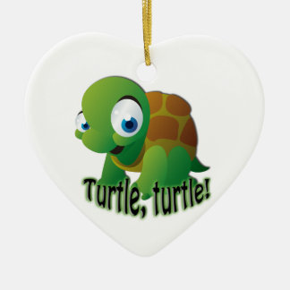 Turtle! Ceramic Ornament