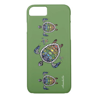Turtle Chakras iPhone 8/7 Case