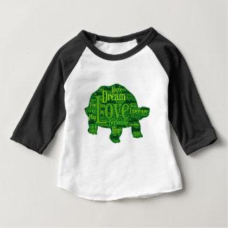 Turtle children design baby T-Shirt
