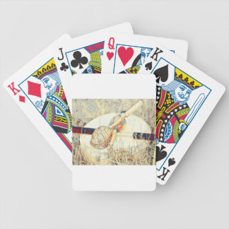 Turtle Clan Rattle and Drum Bicycle Playing Cards