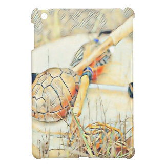 Turtle Clan Rattle and Drum iPad Mini Cases
