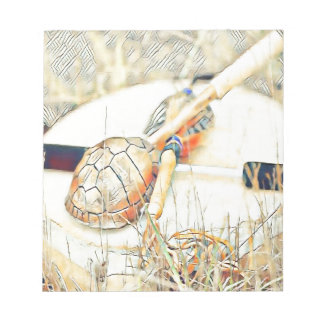 Turtle Clan Rattle and Drum Notepad