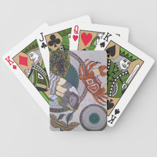Turtle crab bicycle playing cards