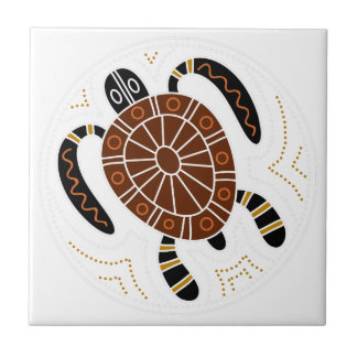 Turtle Dotted Design Tiles