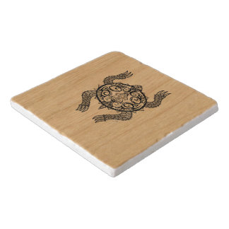 Turtle Drawing Trivet