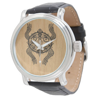 Turtle Drawing Watch