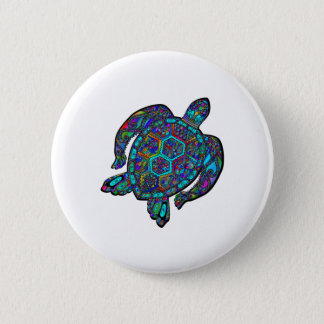 TURTLE DREAM AWAY 2 INCH ROUND BUTTON