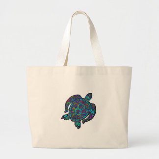 TURTLE DREAM AWAY LARGE TOTE BAG