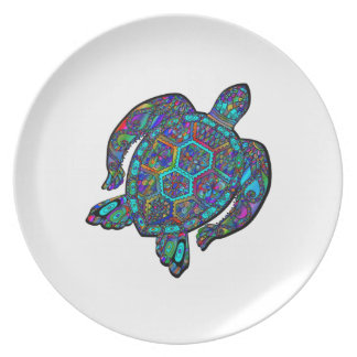 TURTLE DREAM AWAY PLATE