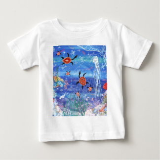 Turtle Dreaming Baby T-Shirt
