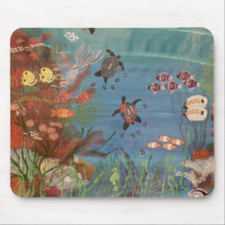 Turtle Dreaming IV Mouse Pad