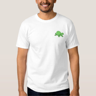 Turtle Embroidered T-Shirt