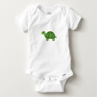 Turtle Emoji Baby Onesie