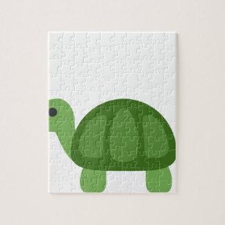 Turtle Emoji Jigsaw Puzzle