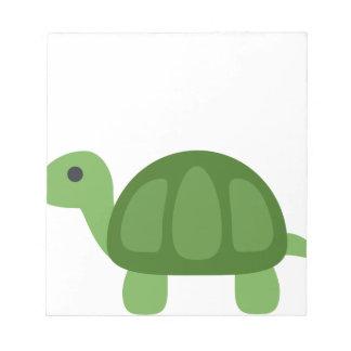 Turtle Emoji Notepad