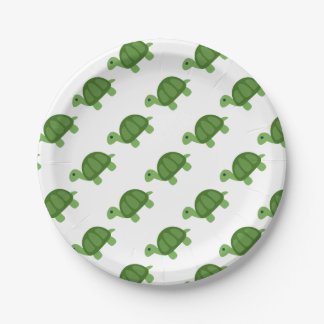 Turtle Emoji Paper Plate