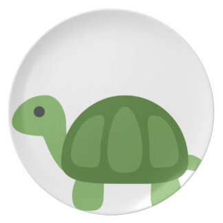 Turtle Emoji Plate