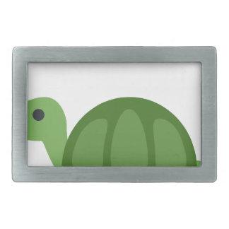 Turtle Emoji Rectangular Belt Buckles