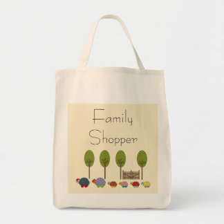 Turtle Family Tote Bags