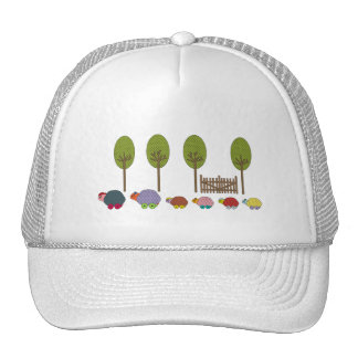 Turtle Family Mesh Hat