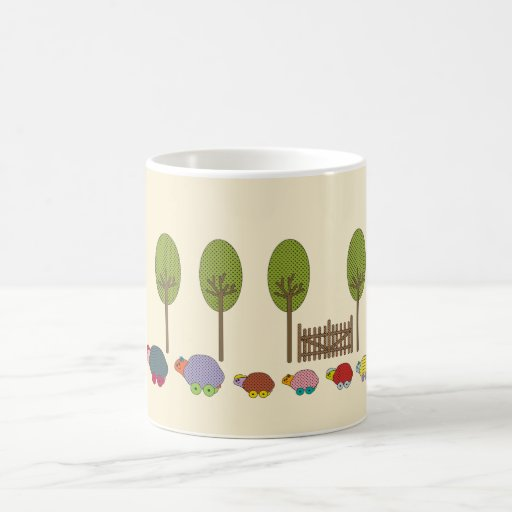 Turtle Family Mugs