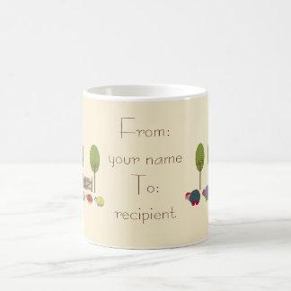 Turtle Family Classic White Coffee Mug